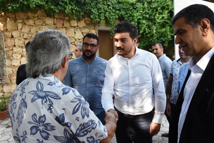 CHP Gençlik Kolları Genel Başkanı Yılmaz, Nusaybin'de