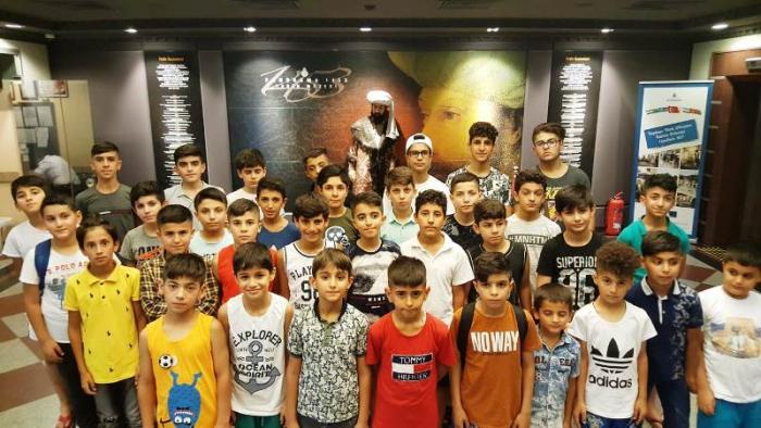 Galatasaray Nusaybin Futbol Okulu İstanbul kampı