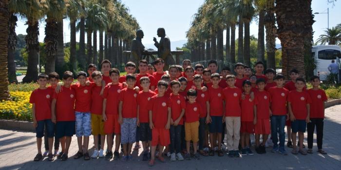 Galatasaray Nusaybin Futbol Okulunun Ege kampı sona erdi
