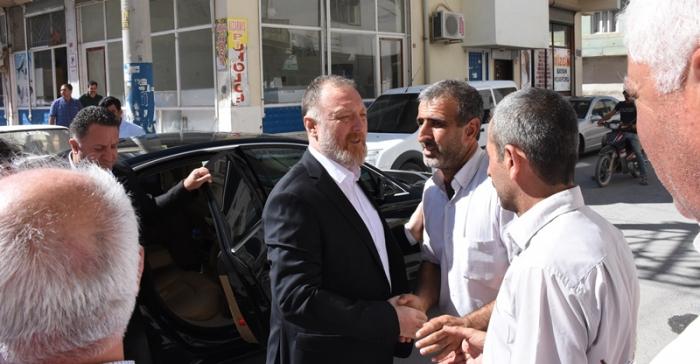 HDP Eş Genel Başkanı Temelli, Nusaybin'i ziyaret etti