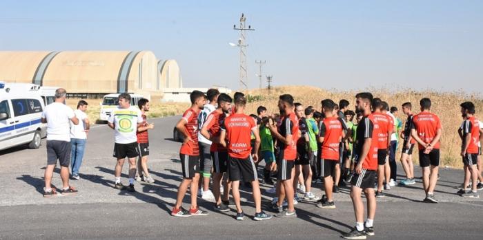 Nusaybin Belediyesi Gençlik Koşusu düzenledi