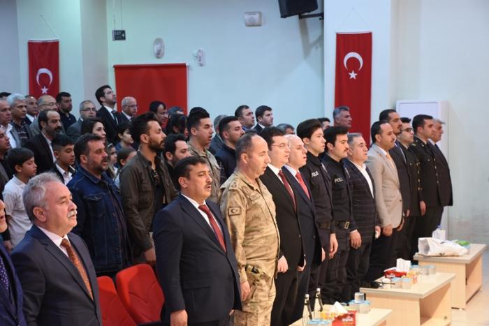 Nusaybin'de İstiklal Marşı'nın kabulü kutlandı
