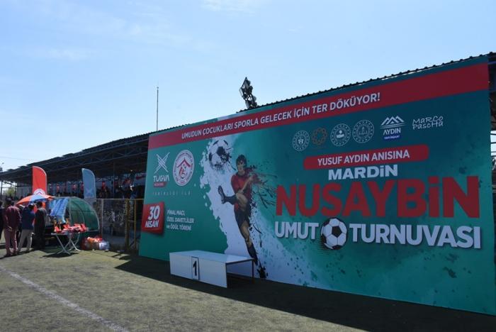 Nusaybin'de TÜGVA'dan 'Umut Turnuvası'