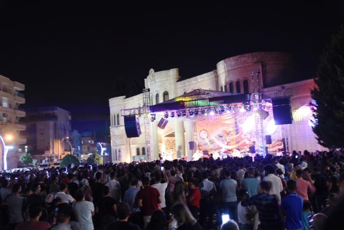 Nusaybin Kültür Sanat Festivali konseri
