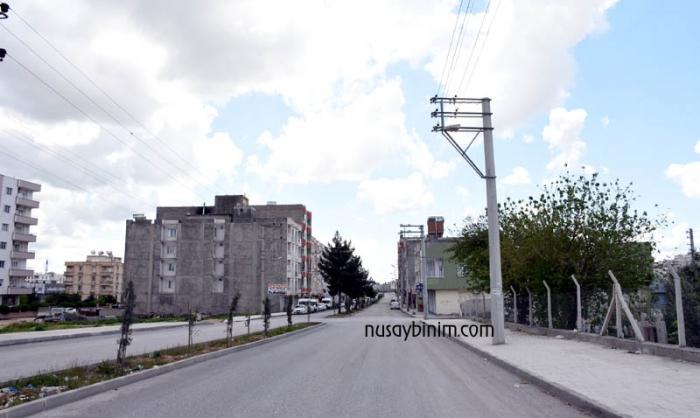 Nusaybin sokakları sessizliğe büründü