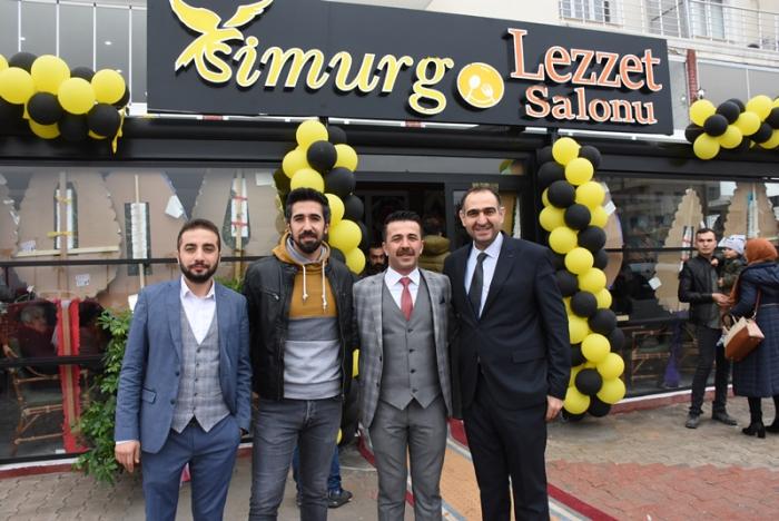 Simurg Lezzet Salonu açıldı