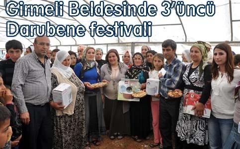 Girmeli Beldesinde 3'üncü Darubene festivali
