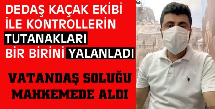 Elektrik şirketi tarafından ceza yazılan Ahmet Ay, mahkemeye gitti