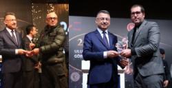 Altunkaynak ve Akkuş'a yılın Gazetecisi ödülü