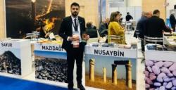 Avesis Hotel Travel Turkey İzmirTurizm Fuarında Nusaybin'i tanıtıyor