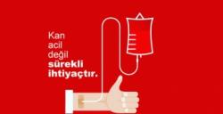 Kızılay kan bağışı alacak