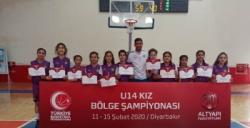 Nusaybin Belediye Spor Basketbol takımı Bölge Şampiyonu oldu