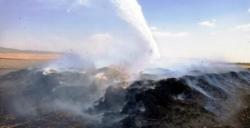 Nusaybin'den saman yandı