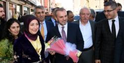 Teşkilatlardan sorumlu AK Parti Genel Başkan Yardımcısı Kandemir, Nusaybin'de