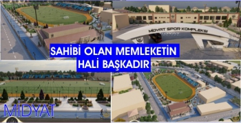Midyat'a Spor Kompleksi müjdesi