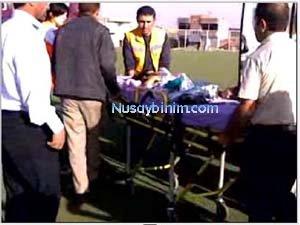 Nusaybin'de tutuşturulan çalıların içine düşen kız çocuğu yandı