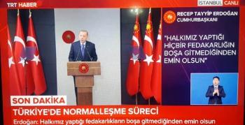 Türkiye 1 Haziran'da normale dönüyor