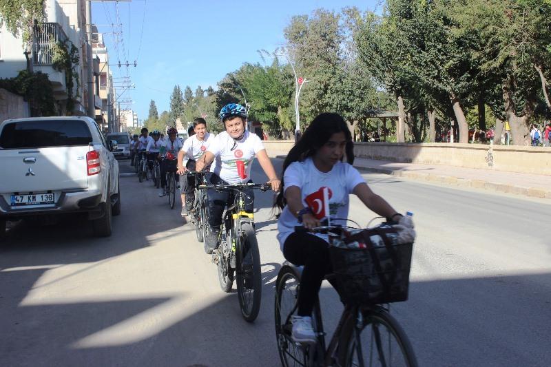 Öğrencilerden bisiklet farkındalığı