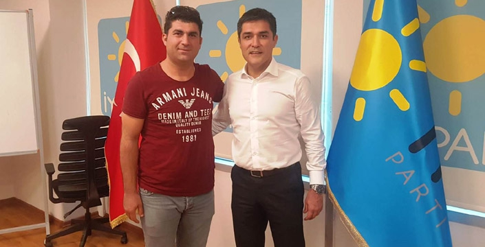 İYİ Parti Nusaybin ilçe teşkilatı istifa etti
