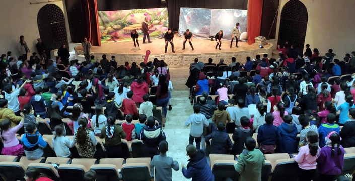 Minik öğrencilere Çevre Bilinci Müzikali ve Tiyatro