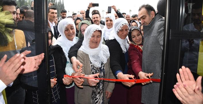 Nusaybin'de Simurg Lezzet Salonu açıldı