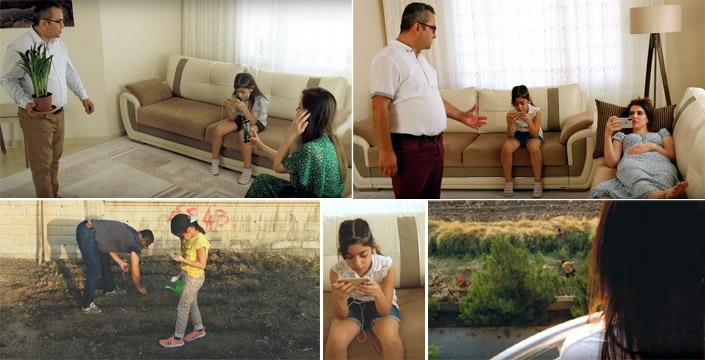 Nusaybinli yönetmenden telefon bağımlılığını anlatan kısa film
