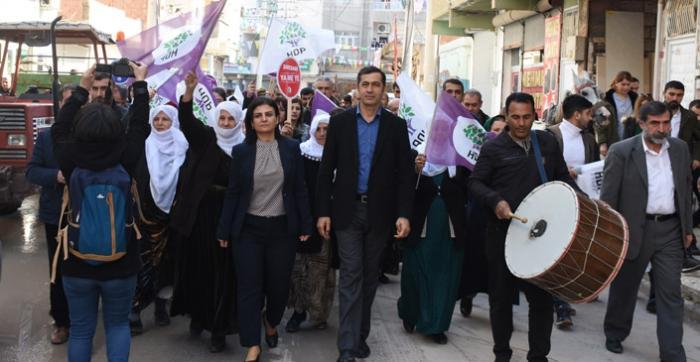 HDP Belediye seçimleri startını verdi