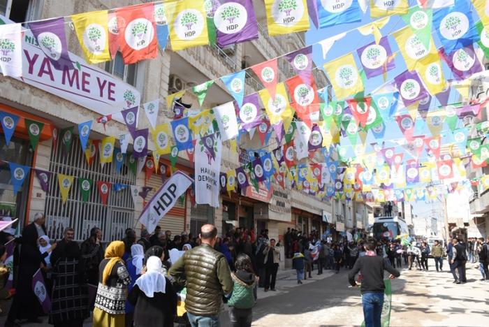 HDP Nusaybin'de Seçim Bürosu açtı