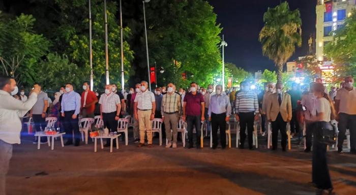 Nusaybin'de 15 Temmuz Demokrasi ve Milli Birlik Günü 4. yıl dönümü