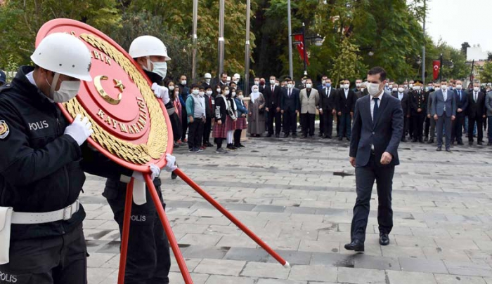 Nusaybin'de Atatürk'ü Anma Programı düzenledi