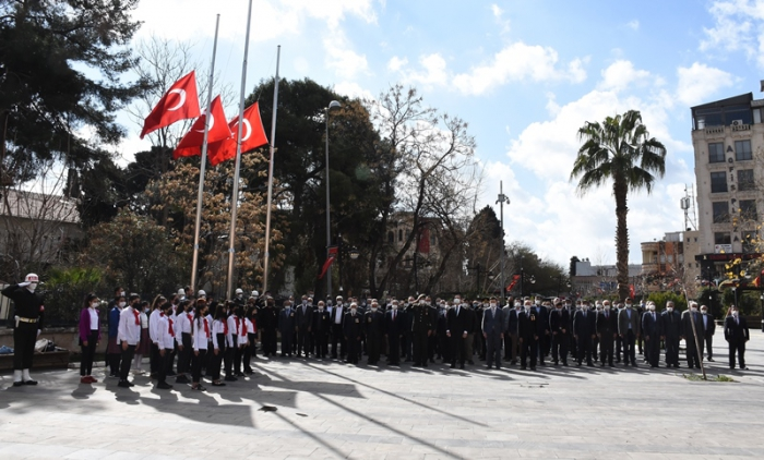 Nusaybin'de Şehitleri Anma ve Çanakkale Zaferinin 106. Yıl dönümü kutlandı