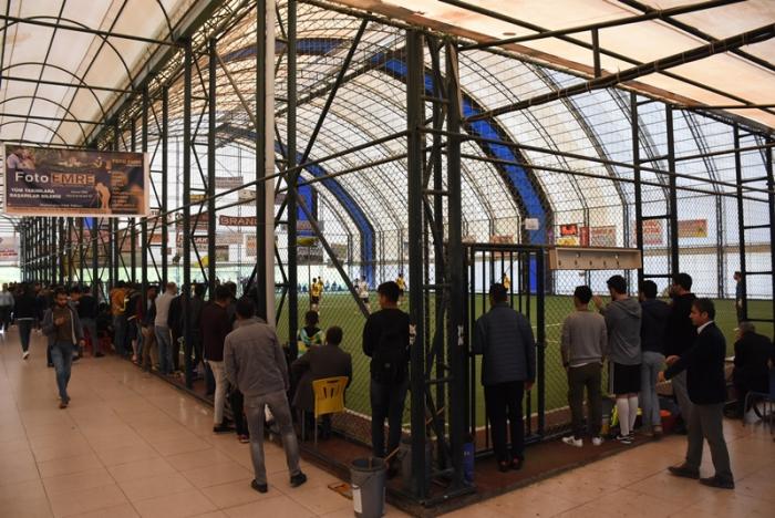 Nusaybin Eğitim Sen Futbol turnuvası