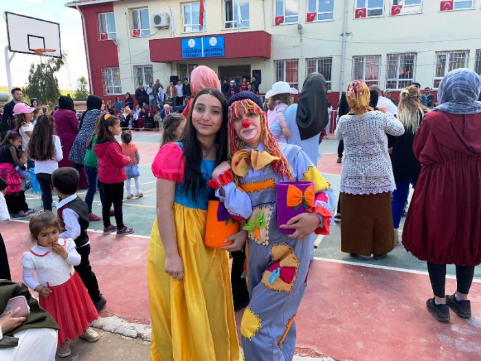 Nusaybin köylerinde 23 Nisan Çocuk Bayramı kutlandı