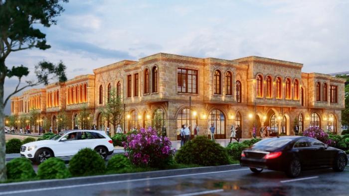 TOKİ tarafından Nusaybin'de yapılacak Ticaret Merkezi İnşaatı başladı