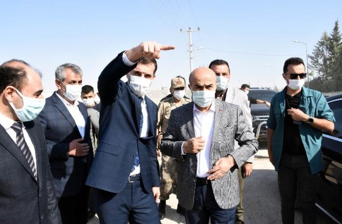 Vali Demirtaş, Nusaybin'de incelemelerde bulundu