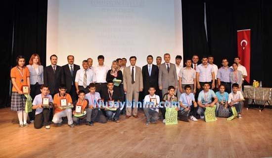 Nusaybin'de 4. Matematik Olimpiyatı ödül töreni