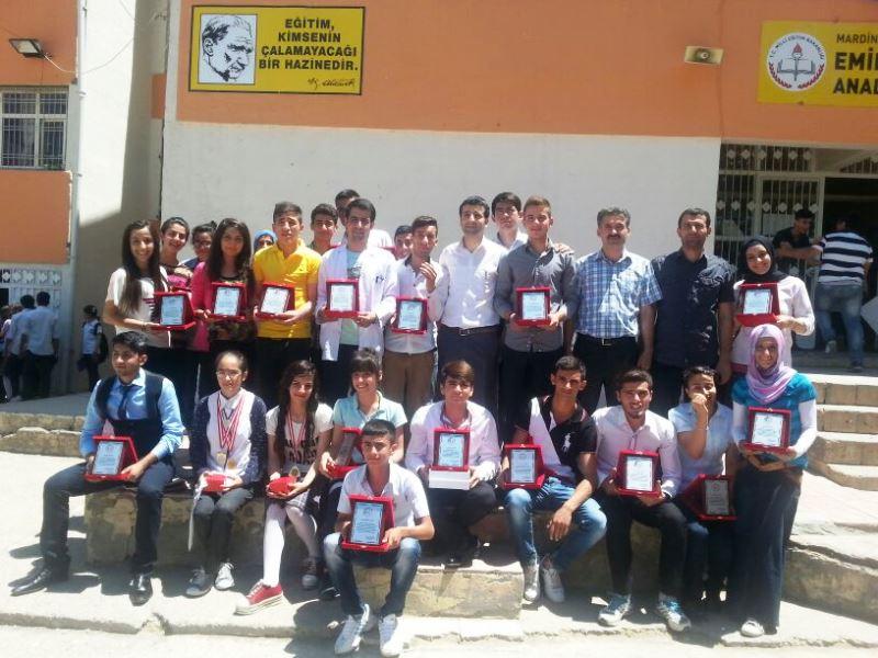 Emire Gözü Anadolu Lisesi'nde ödül programı