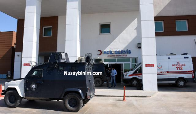 Nusaybin'de trafo tamiri yapan personel elektrik akımına kapıldı