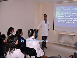 Nusaybin'de Diyabet Hastalığı Semineri