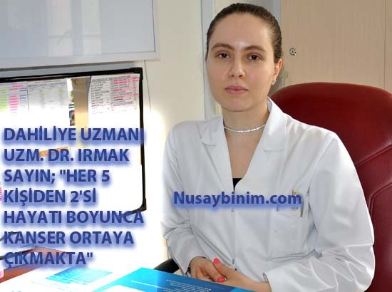 Nusaybin'de kanser haftası etkinliği