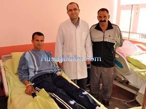 Nusaybin Devlet Hastanesinde Varis Ameliyatı yapıldı
