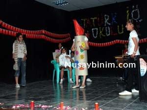 Atatürk ilköğretim okulundan yılsonu etkinliği
