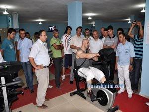 Nusaybin Flex Spor Salonu açıldı