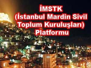 İstanbul Mardin Sivil Toplum Kuruluşları (İMSTK) Platformundan açıklama