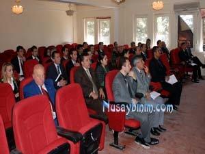 Nusaybin'de İlköğretim Okulu Müdürleriyle Toplantı