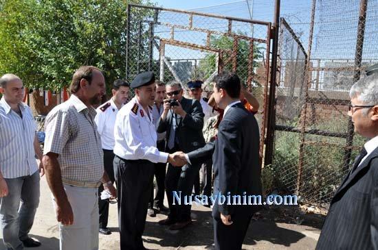 Nusaybin'de Sınır ötesi Bayramlaşma heyecanı 2010