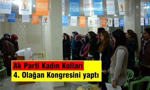 Ak Parti Kadın Kolları Nusaybin'de Olağan Kongresini yaptı