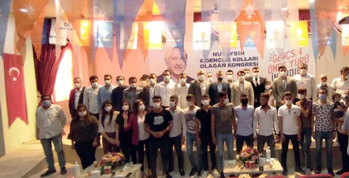 AK Parti Nusaybin Gençlik Kolları 6. Olağan Kongresini yaptı