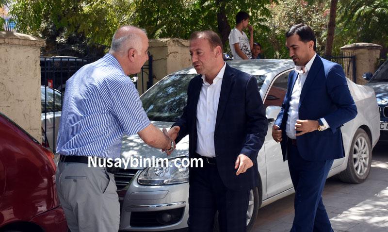 Ak Parti Mardin il yönetimi, Nusaybin'de