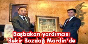Başbakan yardıncısı Bozdağ mardin'de